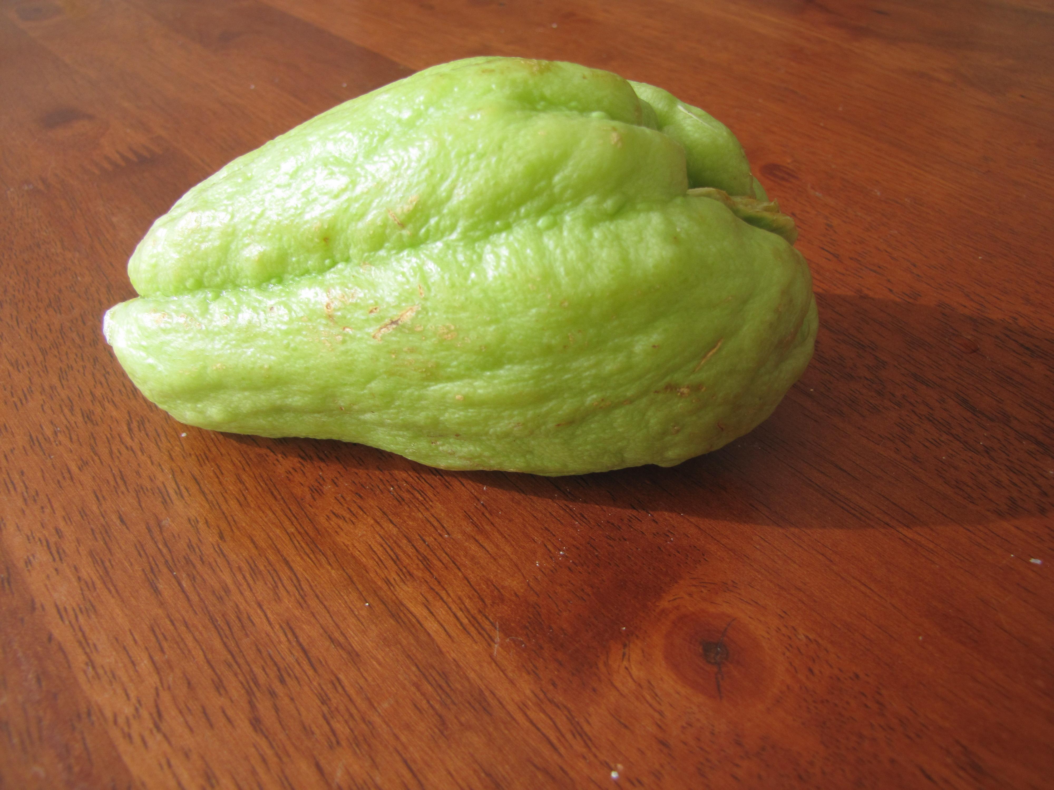 Weird Green Fruits 1